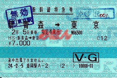 ビューカード 新幹線